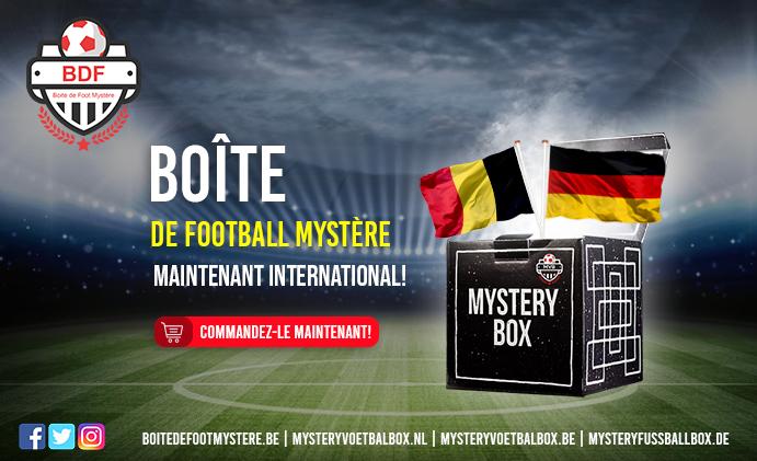 Maillots de football! Mystery Football Box désormais internationale!