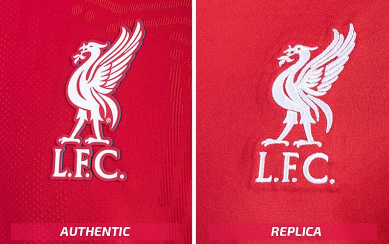 Replica vs Authentic Voetbalshirt